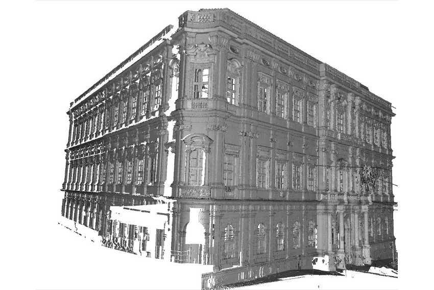 Modellazione BIM palazzo via Gallenga