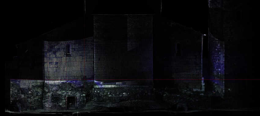 Rilievi laser scanner archeologia 3D