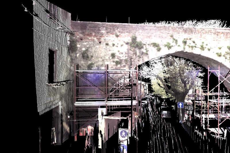 Rilievi laser scanner a Perugia